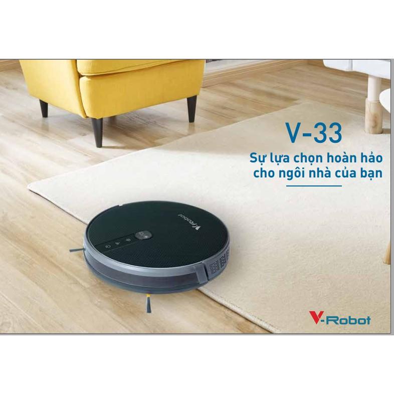 Trải nghiệm sản phẩm robot hút bụi V-robot V33