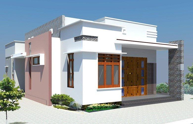 Thiết kế ấn tượng cùng với màu sắc hài hòa tạo nên sự quyến rũ cho ngôi nhà