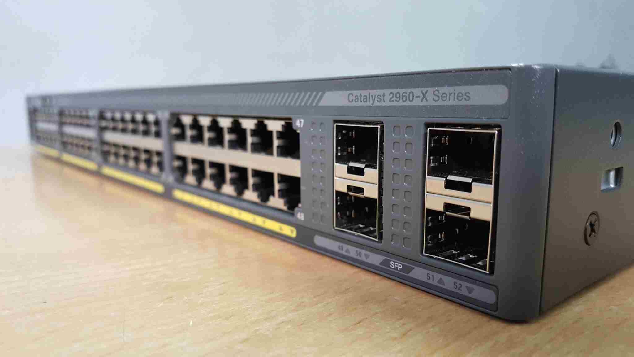 Chọn dòng sản phẩm Switch Cisco 2960 phù hợp nhất