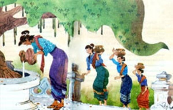 Lễ hội tưới nước cây Bồ đề