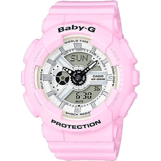 Đồng hồ Casio nữ dây nhựa cực kỳ thích hợp với các cô nàng cá tính