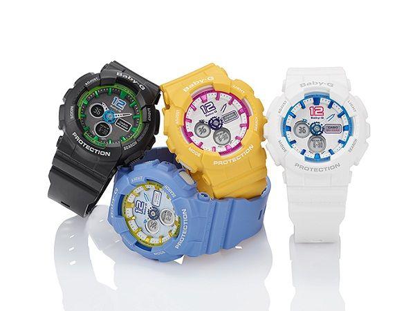 Đồng hồ Baby G BA-120 năng động, trẻ trung và cá tính