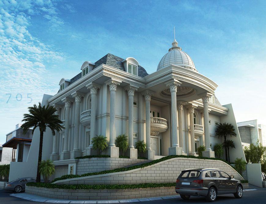 Kiến trúc nhà đẹp theo phong cách cổ điển