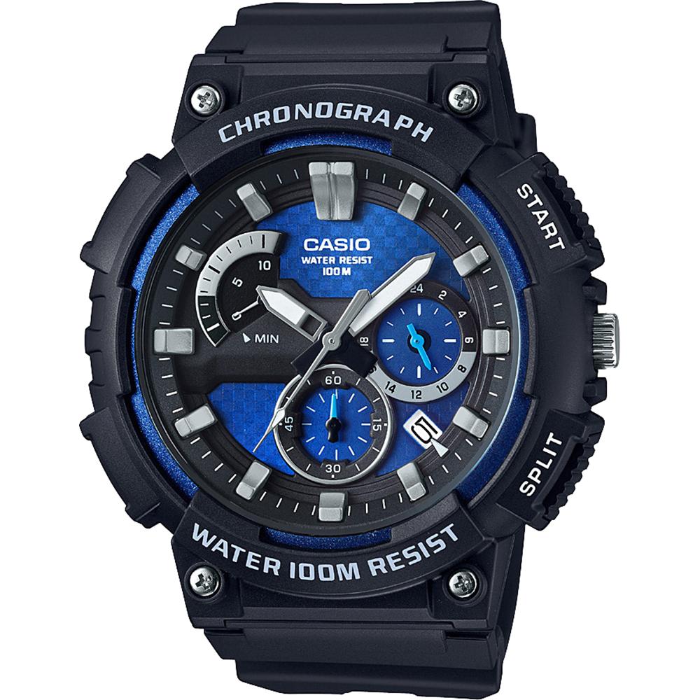 Đồng hồ Casio nam có thiết kế ấn tượng.